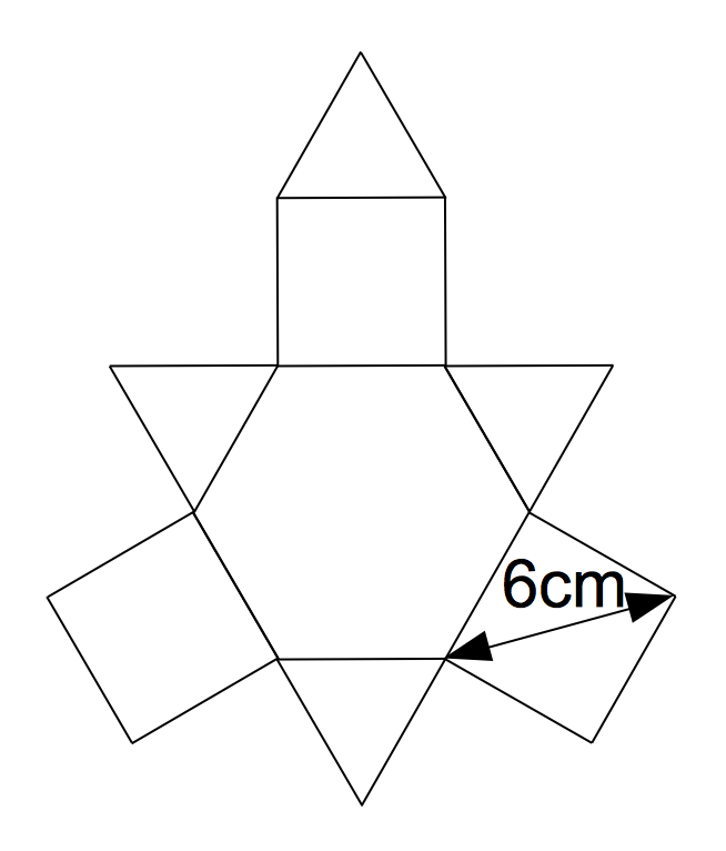 すべての講義 体積 問題 : 正三角形、正方形、正六角形が ...