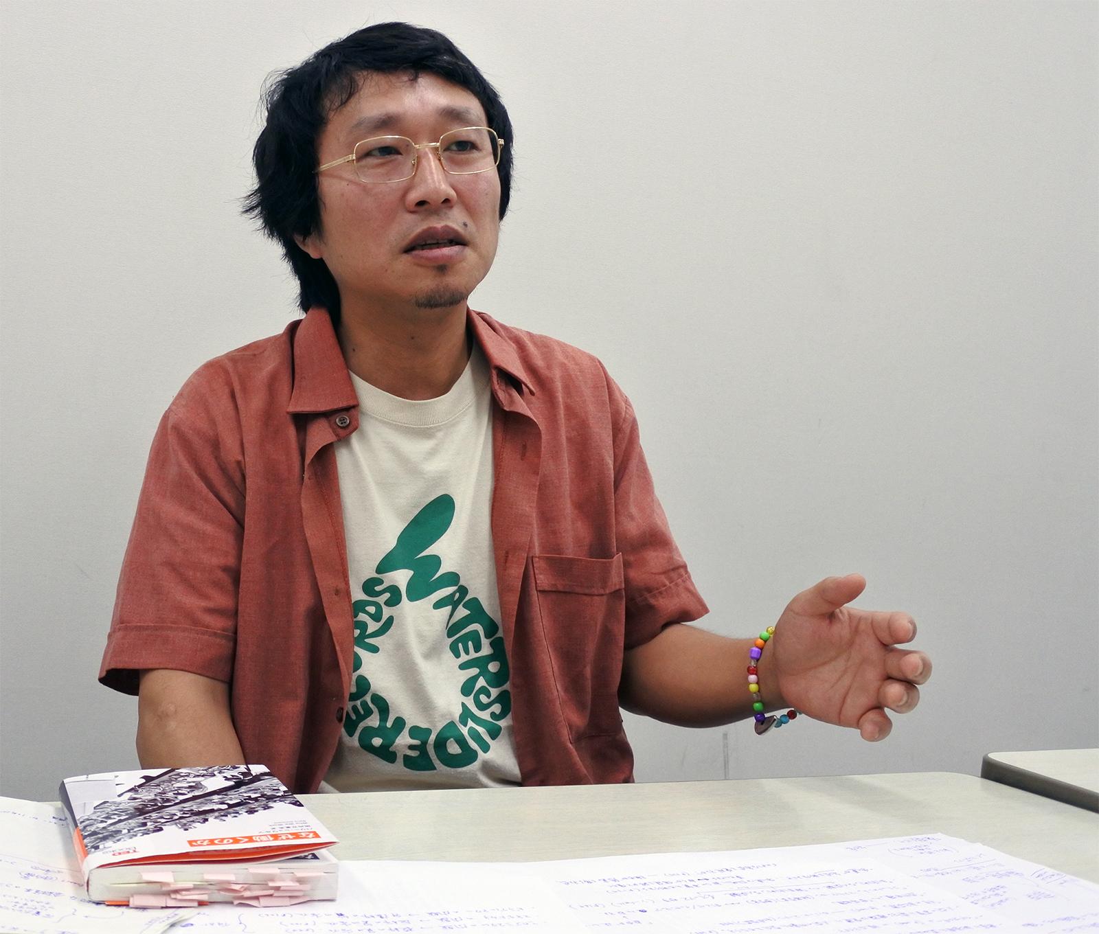 田内万里夫さん